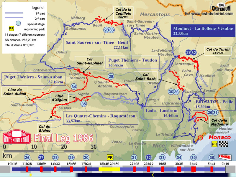 Turini Map
